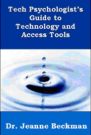 Book Cover of Tech Psychologist's Guide